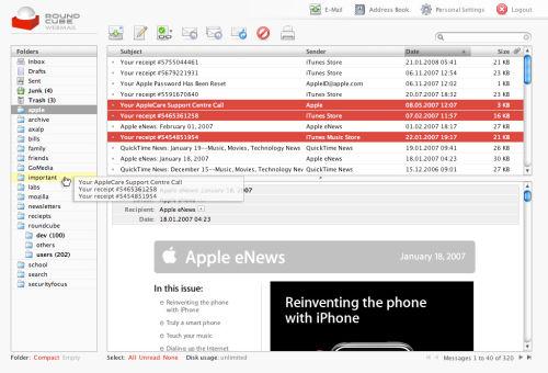 MailServer con Postfix + Dovecot + Mysql +Roundcube